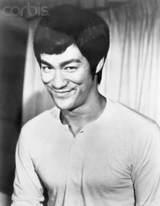 Bruce Lee Smiling